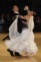 Victor Fung & Anastasia Muravyova at UK Open 2013