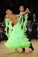 Alessio Potenziani & Veronika Vlasova at International Championships 2011