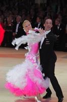 Alessio Potenziani & Veronika Vlasova at Blackpool Dance Festival 2012