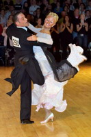 Alessio Potenziani &amp; Veronika Vlasova at Dutch Open 2006