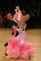 Alessio Potenziani & Veronika Vlasova at UK Open 2009