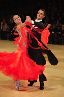 David Moretti & Francesca Sfascia at UK Open 2012