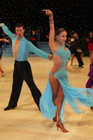 Kai Widdrington & Natasha Jeved at UK Open 2012