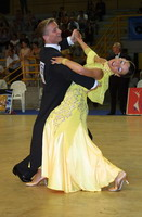 Andrzej Sadecki &amp; Karina Nawrot at 19th Feinda - Italian Open 2002