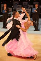 Andrzej Sadecki & Karina Nawrot at UK Open 2010