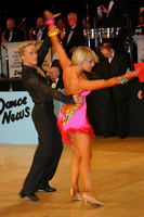 Peter Stokkebroe & Kristina Stokkebroe at UK Open 2005