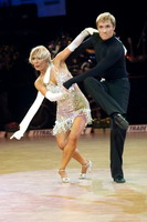 Peter Stokkebroe &amp; Kristina Stokkebroe at Czech Dance Open 2005