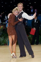 Peter Stokkebroe & Kristina Stokkebroe at UK Open 2006