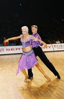 Peter Stokkebroe & Kristina Stokkebroe at World Amateur Latin Championships