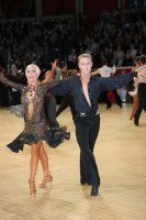 Peter Stokkebroe & Kristina Stokkebroe at International Championships 2008