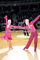 Peter Stokkebroe & Kristina Stokkebroe at 50th Elsa Wells International Championships 2002
