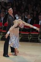 Mykyta Serdyuk & Anna Krasnishapka at Blackpool Dance Festival 2012