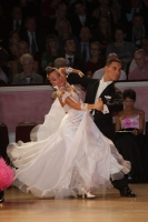 Marco Lustri & Alessia Radicchio at International Championships 2011