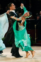 Marco Lustri & Alessia Radicchio at International Championships 2005