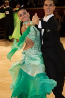 Marco Lustri &amp; Alessia Radicchio at International Championships 2005
