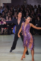 Andrius Kandelis & Elena Zverevshchikova at Blackpool Dance Festival 2012