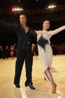 Andrius Kandelis & Elena Zverevshchikova at International Championships 2012