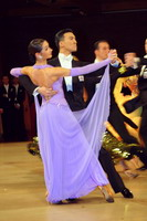 Victor Fung & Anna Mikhed at UK Open 2005