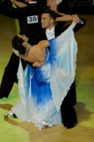 Victor Fung & Anna Mikhed at WDC World Professional Ballroom Championshps 2007