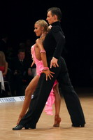 Dmytro Wloch &amp; Olga Urumova at Czech Dance Open 2005