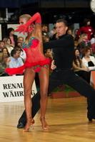 Dmytro Wloch & Olga Urumova at Austrian Open 2005