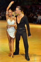 Dmytro Wloch & Olga Urumova at Dutch Open 2006