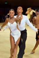 Dmytro Wloch & Olga Urumova at UK Open 2007