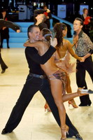 Dmytro Vlokh & Olga Urumova at UK Open 2007
