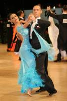 Tomasz Papkala & Frantsiska Yordanova at UK Open 2009