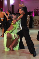 Maksim Bodnar & Elyzaveta Vnuchkova at Blackpool Dance Festival 2012