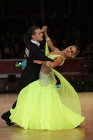 Kyle Taylor & Polina Shklyaeva at International Championships 2011