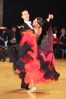 Kyle Taylor & Polina Shklyaeva at UK Open 2012