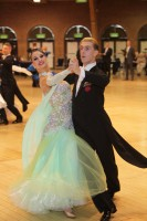 Kyle Taylor & Polina Shklyaeva at UK Closed 2012