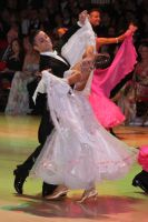 Ivo Lodesani & Cathrin Hissnauer at Blackpool Dance Festival