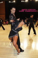 Manuel Favilla & Victoria Burke at UK Open 2012