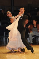Cui Xiang & Yang Zhi Ting at UK Open 2012