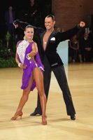Anton Karpov & Ekaterina Lapaeva at UK Open 2012