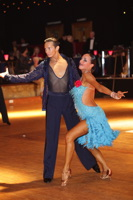 Yegor Novikov & Yana Blinova at Imperial 2011