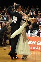 Benedetto Ferruggia & Claudia Köhler at Austrian Open 2004