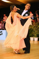Benedetto Ferruggia & Claudia Köhler at UK Open 2005