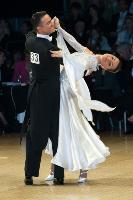 Benedetto Ferruggia & Claudia Köhler at UK Open 2006