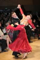 Benedetto Ferruggia & Claudia Köhler at UK Open 2009