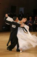Benedetto Ferruggia &amp; Claudia Khler at UK Open 2009