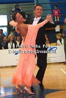 Benedetto Ferruggia & Claudia Köhler at Slovenian Open 2004
