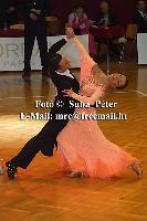 Benedetto Ferruggia & Claudia Köhler at Slovenian Open 2004