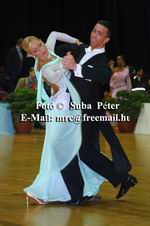Andrea Ghigiarelli & Sara Andracchio at Austrian Open 2003