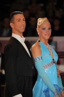 Andrea Ghigiarelli & Sara Andracchio at International Championships 2009