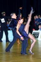 Jesper Birkehoj & Anna Anastasiya Kravchenko at Austrian Open Championships 2002