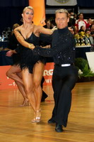 Jesper Birkehoj & Anna Anastasiya Kravchenko at Austrian Open Championships 2005