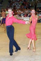 Jesper Birkehoj & Anna Anastasiya Kravchenko at 19th Feinda - Italian Open 2002